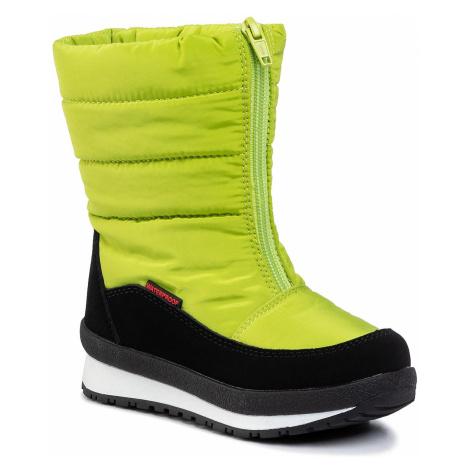 Śniegowce CMP - Kids Rae Snow Boots Wp 39Q4964 Lime Green E413