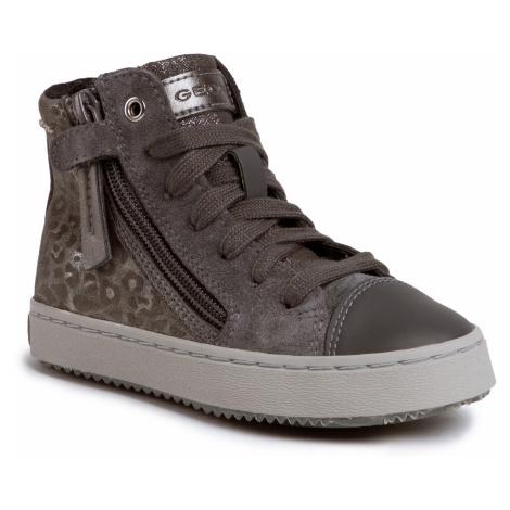 Sneakersy GEOX - J Kalispera G. D J944GD 00722 C9002 S Dk Grey