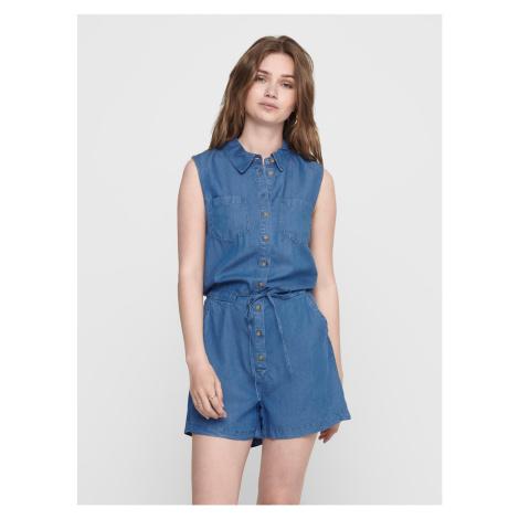 Only niebieski dżinsowy kombinezon Milen