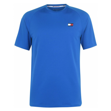 Tommy Sport Tommy Mesh Back T Shirt Mens Tommy Hilfiger