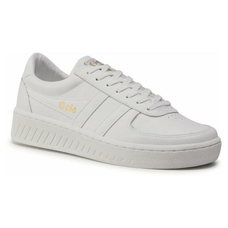 Sneakersy GOLA - Grandslam Leather CMA567 White/White/White