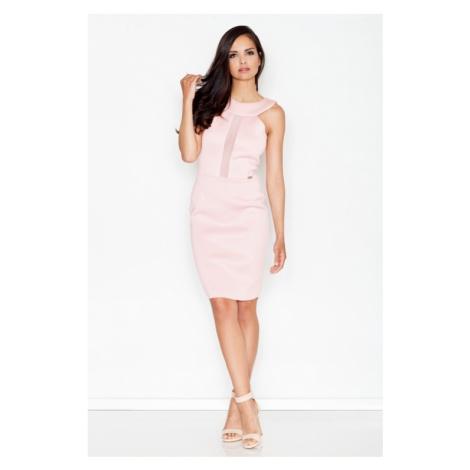 Sukienka damska M372 pink Figl