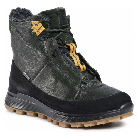 Śniegowce ECCO - Exostrike Kids GORE-TEX 76191352175 Black/Deep Forrest