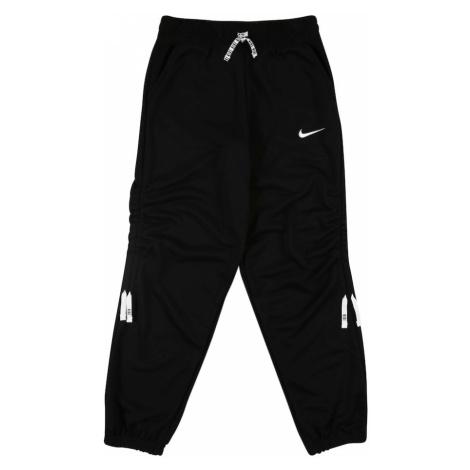 NIKE Spodnie sportowe czarny