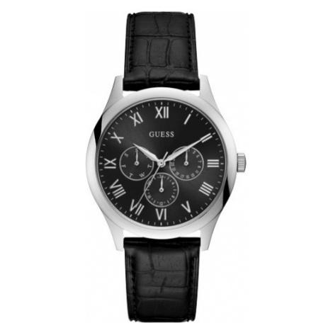 Zegarek GUESS - Watson W1130G1 BLACK/SILVER TONE