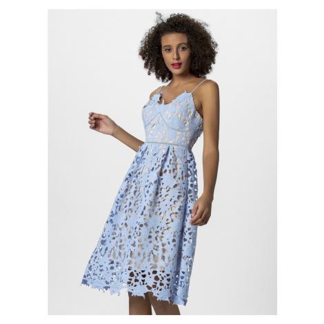 APART Sukienka koktajlowa jasnoniebieski