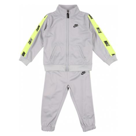 Nike Sportswear Strój do biegania czarny / szary / żółty