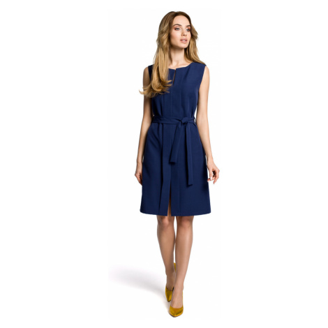 Made Of Emotion Woman's Dress M365 Navy Blue