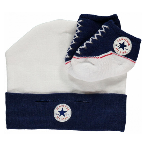 Converse Baby Hat and Bootie Gift Set