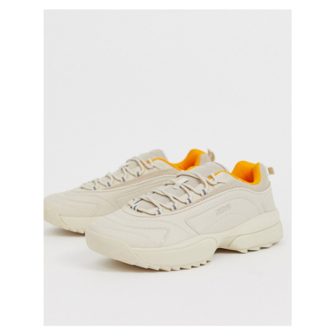 Pull&Bear chunky trainers in sand Pull & Bear