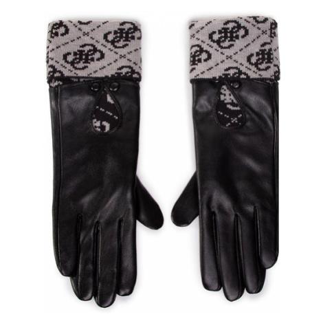 Guess Rękawiczki Damskie Valy Gloves AW8545 POL02 Czarny