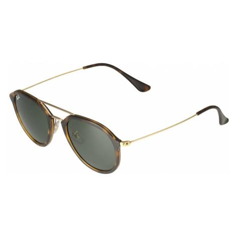 Ray-Ban Okulary przeciwsłoneczne '0RB4253' brązowy / ciemnobrązowy / nakrapiany zielony