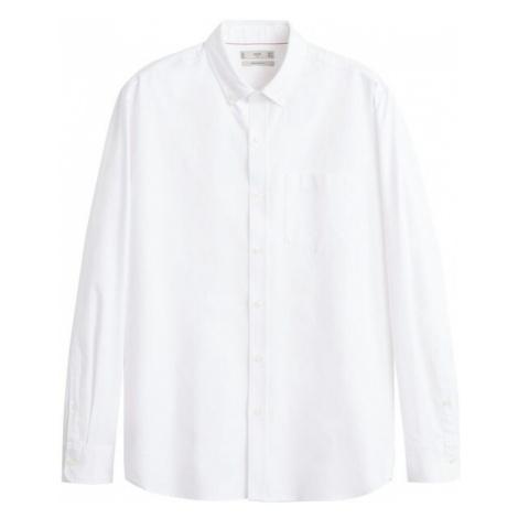 MANGO MAN Koszula biznesowa 'Oxford' biały