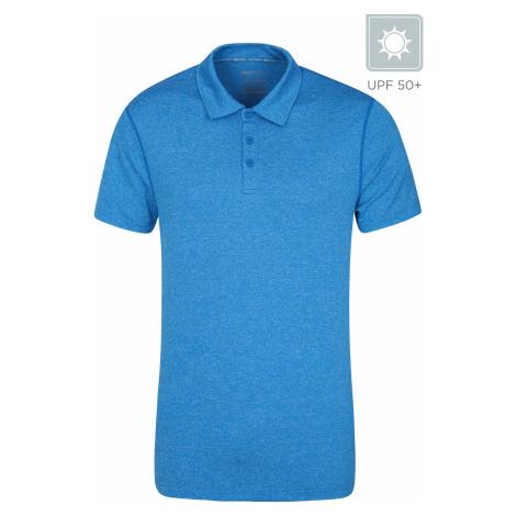 Zakti Agra - męskie polo - Blue