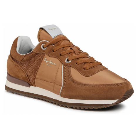 Sneakersy PEPE JEANS - Tinker City PMS30658 Cognac 879