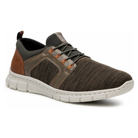 Sneakersy RIEKER - B7796-54 Grun
