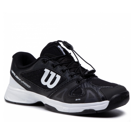 Buty WILSON - Rush Pro Jr Ql WRS326230 Black/Wht/Black