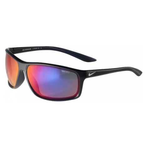 NIKE Sportowe okulary przeciwsłoneczne 'ADRENALINE E CW4680' czarny / srebrny