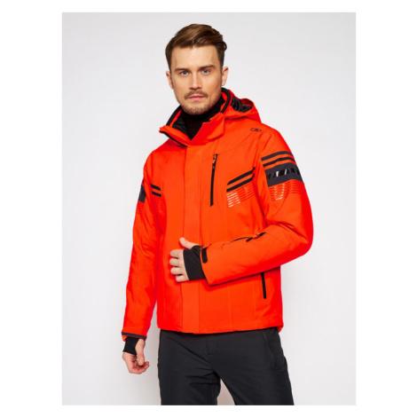 CMP Kurtka narciarska 30W0287 Pomarańczowy Regular Fit