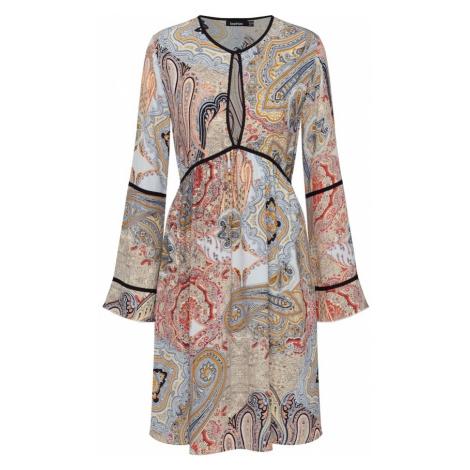 Boohoo Sukienka mieszane kolory