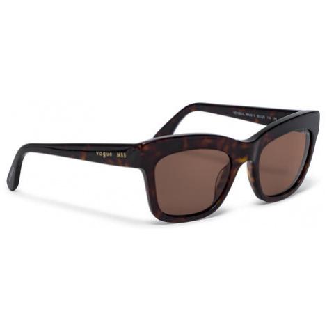 Vogue Okulary przeciwsłoneczne MBB x Vogue Eyewear 0VO5392S W65673 Brązowy