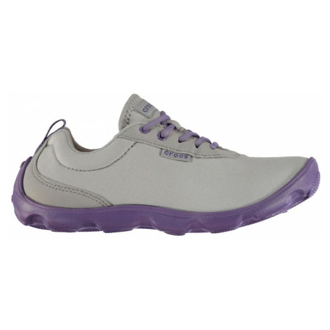 Crocs Duet Busy Day Lace Up Ladies Trainers