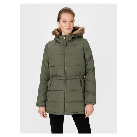 GAP zielony płaszcz