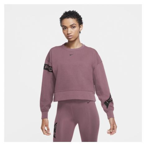 Damska bluza treningowa Nike Pro Dri-FIT Get Fit - Różowy