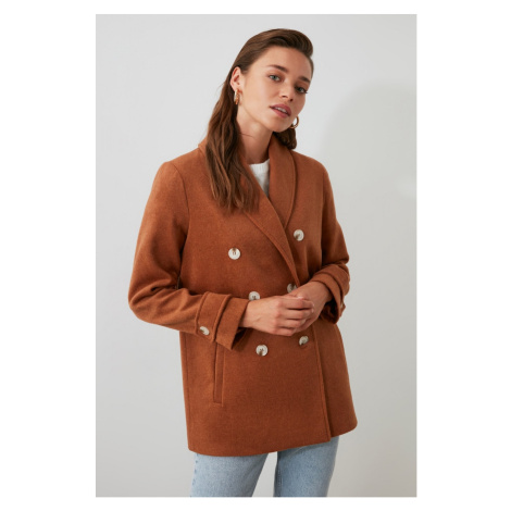 Women's coat Trendyol Button Detailed