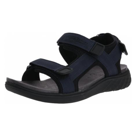 CAMEL ACTIVE Sandały czarny / ciemny niebieski