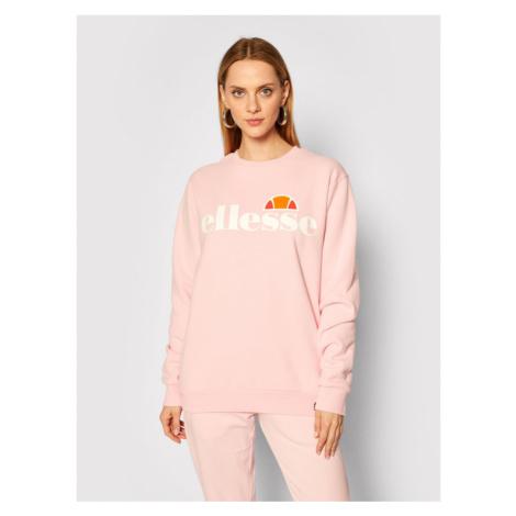 Ellesse Bluza Agata SGS03238 Różowy Regular Fit