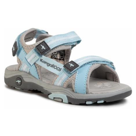 Sandały KANGAROOS - K-Leni 18335 000 4132 S Blue Sky/Vapor Grey