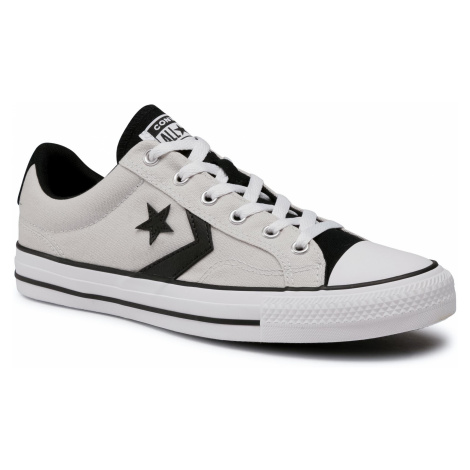 Trampki CONVERSE - Star Player Ox Mou 168528C Mouse/Black/White
