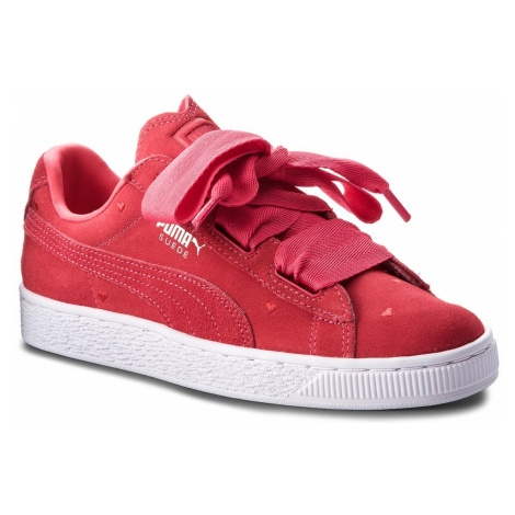 Sneakersy PUMA - Suede Heart Valentine Jr 365135 01 Paradise Pink/Paradise Pink
