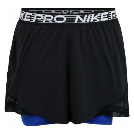 NIKE Spodnie sportowe niebieski / czarny