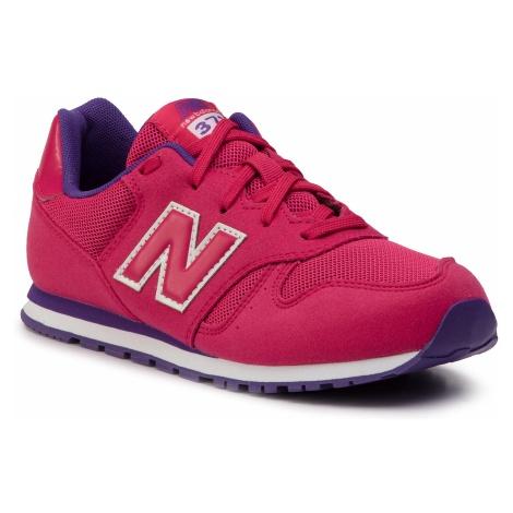 Sneakersy NEW BALANCE - YC373PY Różowy