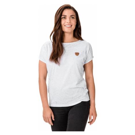 White Women's Patterned T-Shirt SAM 73