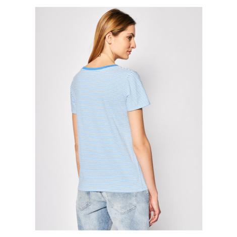 Levi's® T-Shirt The Perfect V Neck 85341-0001 Niebieski Regular Fit Levi´s