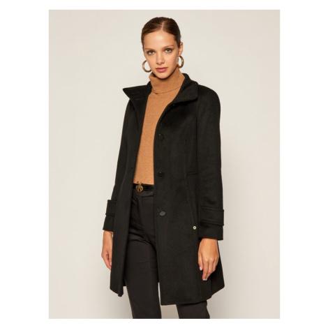 Pennyblack Płaszcz wełniany Cloruro 20140420 Czarny Regular Fit