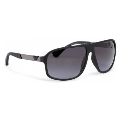 Emporio Armani Okulary przeciwsłoneczne 0EA4029 50638G Czarny