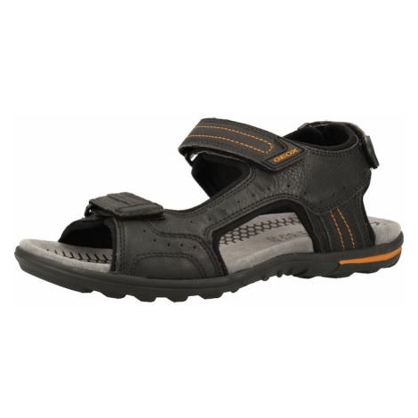GEOX Sandały trekkingowe czarny