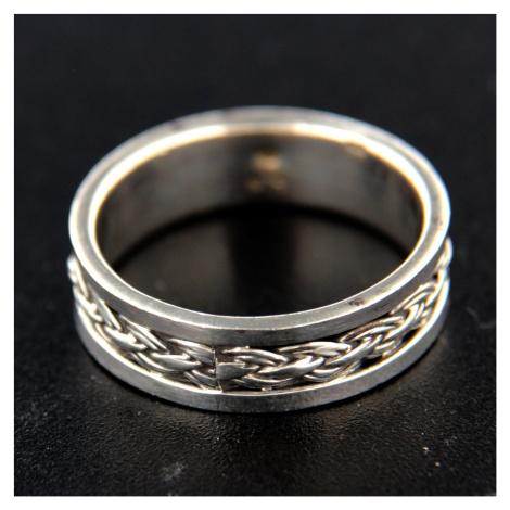 Pierścionek srebrny 14755
