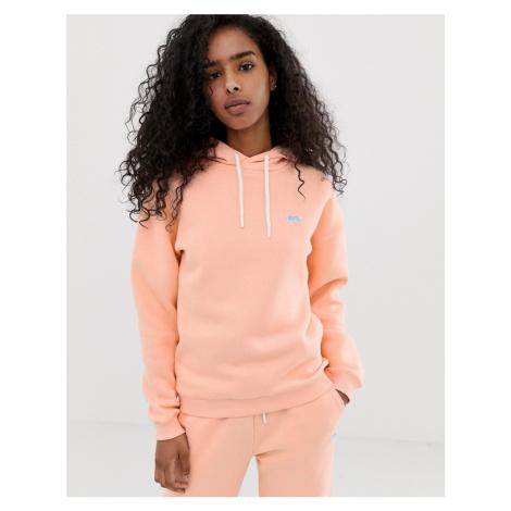 Lonsdale hoodie in peach