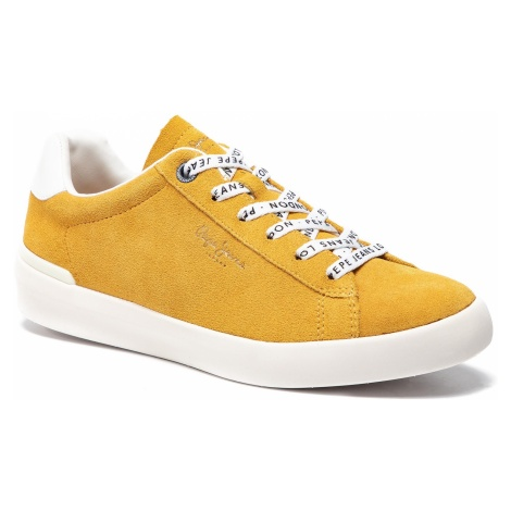 Sneakersy PEPE JEANS - Roland Suede PMS30524 Ochre Yellow 097