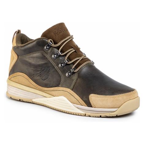 Sneakersy K-SWISS - Eaton P Cmf 05077-436-M Dark Olive/Khaki