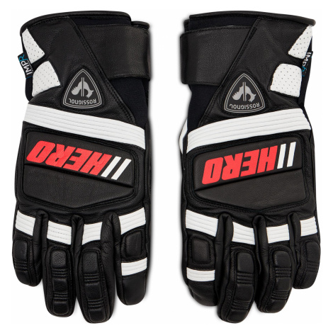 Rękawice narciarskie ROSSIGNOL - Wc Expert Lth Impr G RLIMG10 Black 200