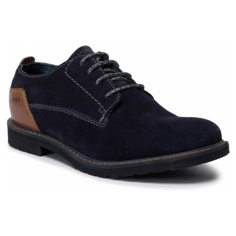 Półbuty BUGATTI - 311-80101-1412-4163 Dark Blue/Cognac