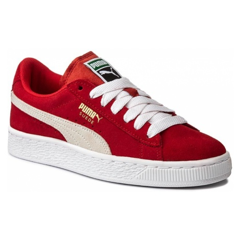 Sneakersy PUMA - Suede Jr 355110 03 High Risk Red/White