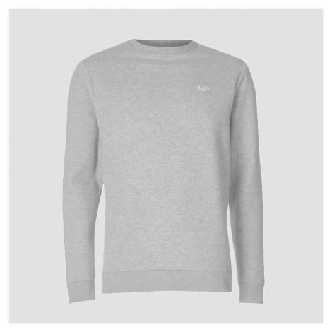 Męski sweter z kolekcji Essentials MP – szary melanż