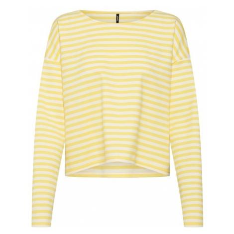 ONLY Koszulka 'FAME' żółty / biały